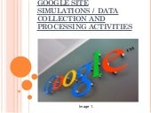Google Site Simulations and DCP act...