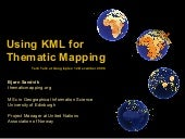 Using KML for Thematic Mapping