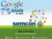 Google Tools for SEO