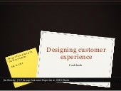 Designing Customer Experience - Cookbook