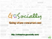 GoSocially - Going Where Consumers ...