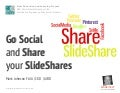 Go Social and Share Your Slideshares