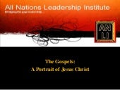 The Gospels: A Portrait of Jesus Ch...
