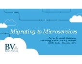 Goto Berlin - Migrating to Microservices (Fast Delivery)