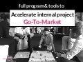 Full Program & Tools to Accelerate an Internal Innovation Project - by Board of Innovation