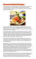 Gourmet seafood recipes