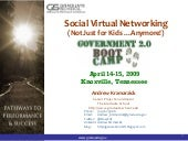Government 2.0 Boot Camp - Social V...