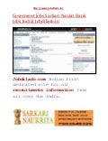Goverment jobs sarkari naukri bank jobs  www.jobdilado.in