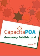 Cartilha - Governanca Solidária Local