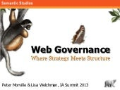 Web Governance: Where Strategy Meet...