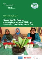 Governing the Forests: An Instituti...