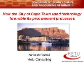 Using ICT to enable government supp...