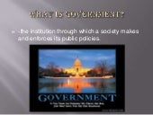 Government chapter 1 powerpoint