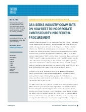 GSA Seeks Industry Comments on How ...