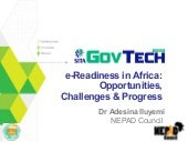 e-readiness in Africa: Opportunitie...