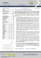 GOWEX coverage analysis by BANKIA -...