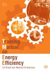 Training manual on energy efficienc...