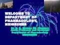 An Introduction to Pharmacology