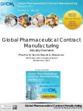 Global Pharmaceutical Contract Manu...