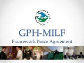 GPH-MILF Framework Agreement
