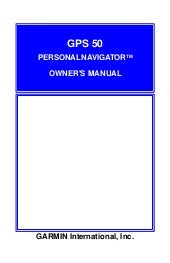 Gps50 owners manual