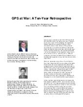 GPS At War