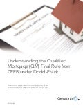 Understanding the Qualified Mortgage (QM) Final Rule from CFPB under Dodd–Frank
