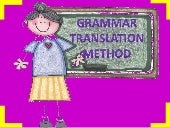 Grammar translation method correcta