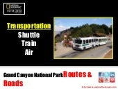 Grand Canyon Routes & Roads - Shutt...