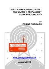 'Tools For Radio Content Regulation...