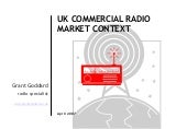 'UK Commercial Radio Market Context...