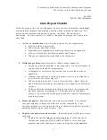 Grant proposal checklist handout