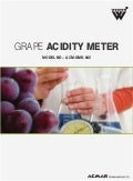 Grape Acidity Meter by ACMAS Technologies Pvt Ltd.