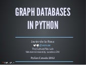 Graph Databases in Python (PyCon Ca...