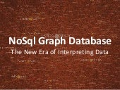 NoSQL Graph Databases - Why, When and Where