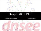 Graph databases in PHP @ PHPCon Poland 10-22-2011