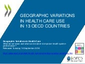 Geographic Variations in Health Care