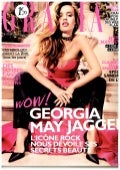 Grazia Georgia May Jagger