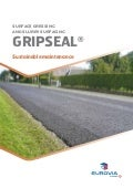 Gripseal® - Sustainable maintenance