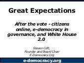 Great Expectations: After the vote ...