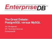 The Great Debate: PostgreSQL vs MySQL