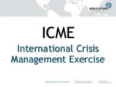 International Crisis Management Exe...