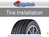 Great discounts on tire replacement...