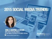 Social Media Trends for 2015: How to Make a Proactive Program
