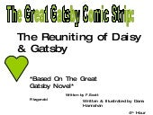 The Great Gatsby Comic Strip Project