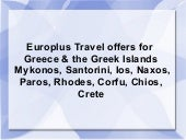Greece Travel Tourism Vacation