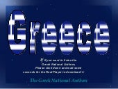 Greece, Parte I, bits of tradition,...