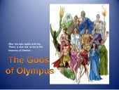 Greek Gods Of Olympus