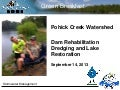 Pohick Creek Watershed: Dam Rehabilitation Dredging and Lake Restoration