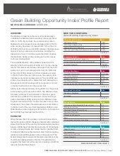 Green Building Index Profile Report...